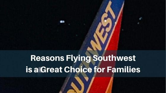 flying southwest for families