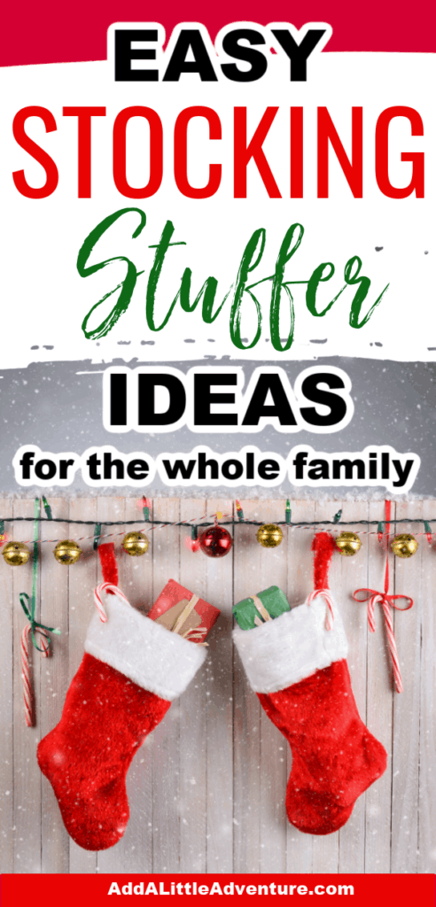 Easy Stocking Stuffer Ideas for the Whole Family