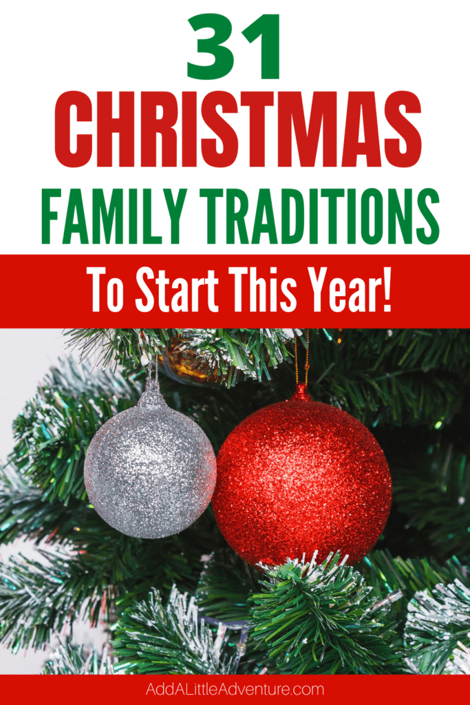 Christmas family traditions to start this year