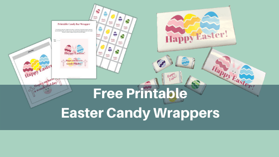 Free Printable Easter Candy Wrappers