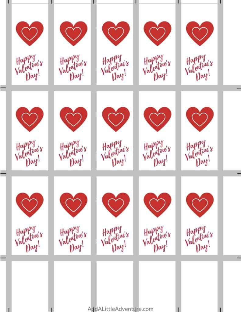 Valentine S Candy Bar Wrappers Free Printables For Valentine S Day