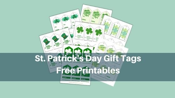 St. Patrick's Day Gift Tags - Free Printables