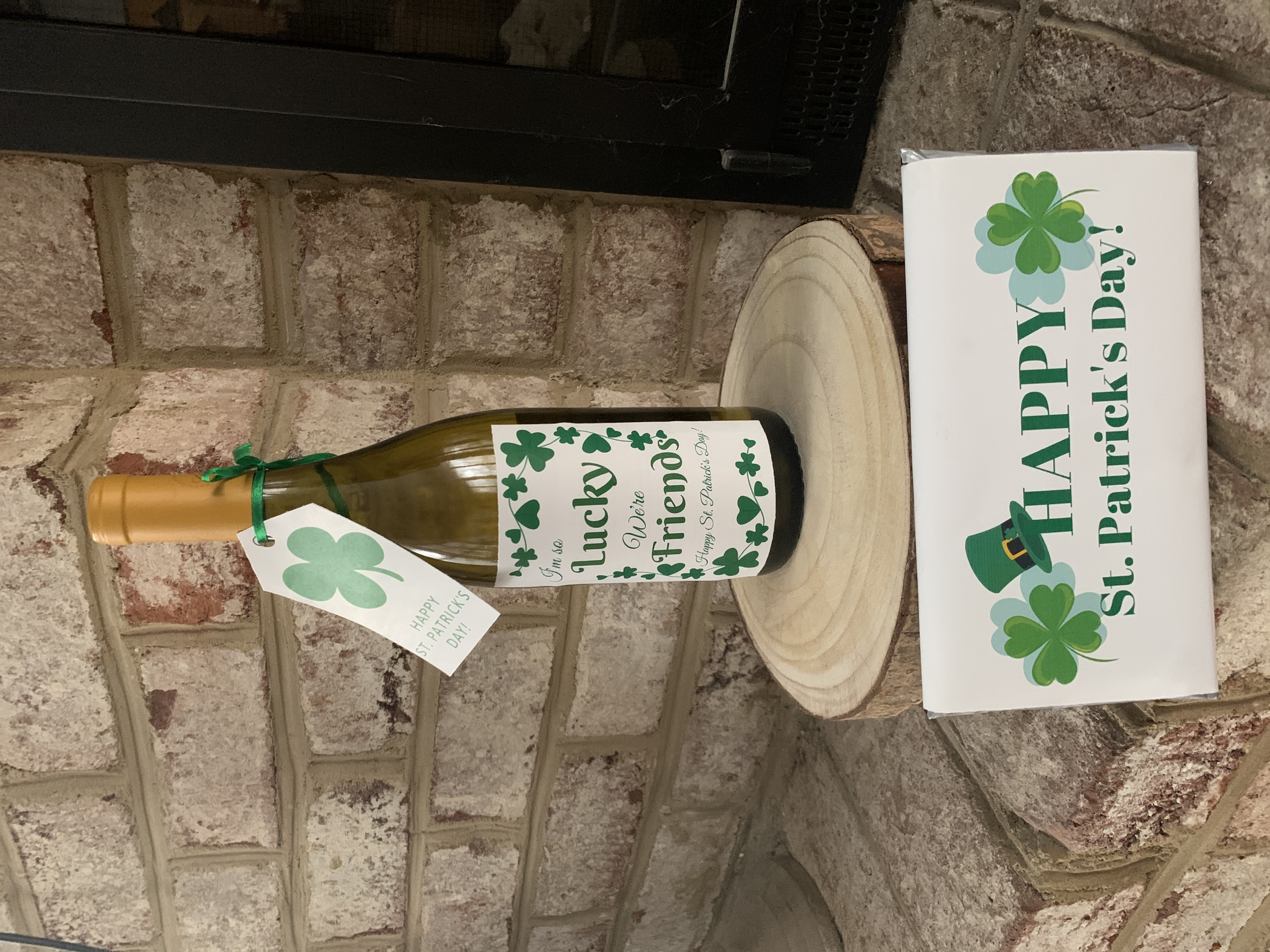 St. Patrick's Day Wine and Chocolate