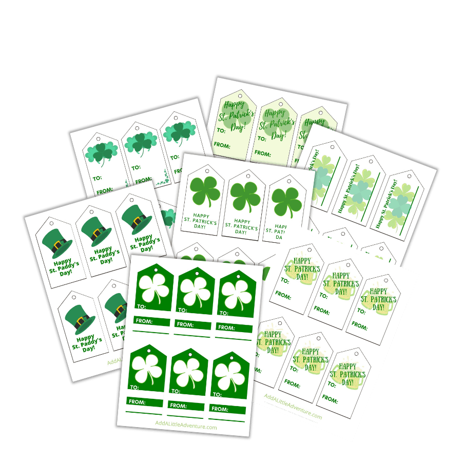 St. Patrick's Day Gift Tags