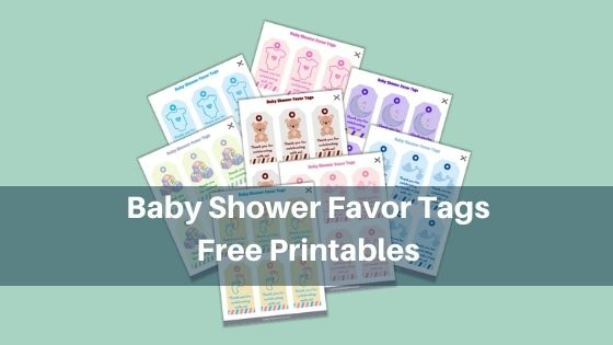 Baby Shower Favor Tags Free Printables