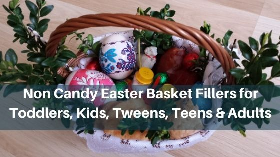 Non Candy Easter Basket Fillers