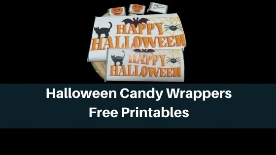 Halloween Candy Wrappers - Free Printables